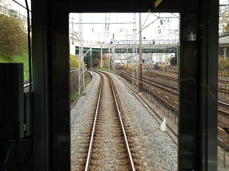 箱根登山電車の車窓(小田原→箱根板橋)1