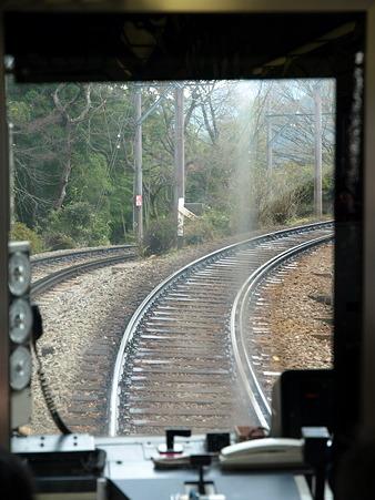 箱根登山電車の車窓(大平台駅→宮ノ下駅)2