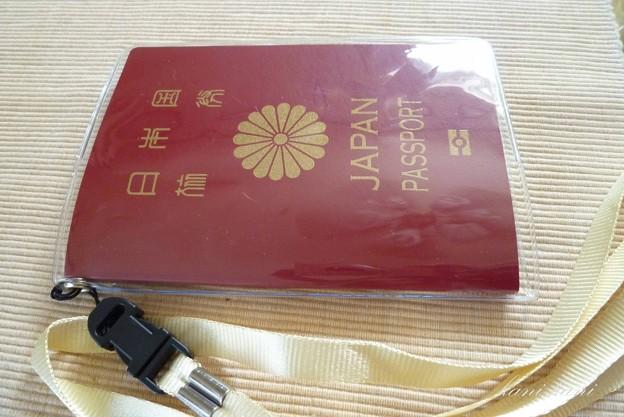 100均のパスポートケース