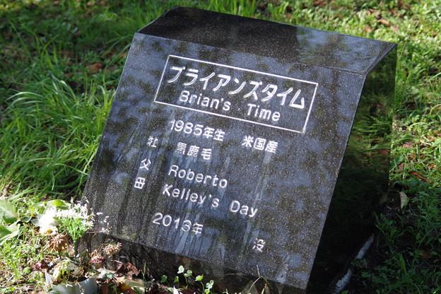 ブライアンズタイムの墓碑