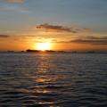 「夕暮は雲の旗手に物を思ふ」 スラウェシのマカッサル Sunset in Makassar