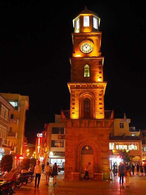 20分進んだ時計 Clock Tower in Canakkale