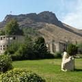 写真: キルギスの聖山スライマン Sulayman Mountain in Osh