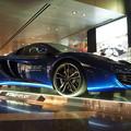 写真: 車種同定よろしく Blue Car in Doha