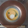 写真: お月見スープ Pumpkin Soup in the Image of a Full Moon 今夕から5週間イラン・コーカサス方面旅行のため不在です
