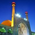 写真: 蒼穹のミナレット~エスファハーン Minaret against Blue Sky