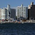 写真: 片瀬東浜海水浴場 江の島より 26082016