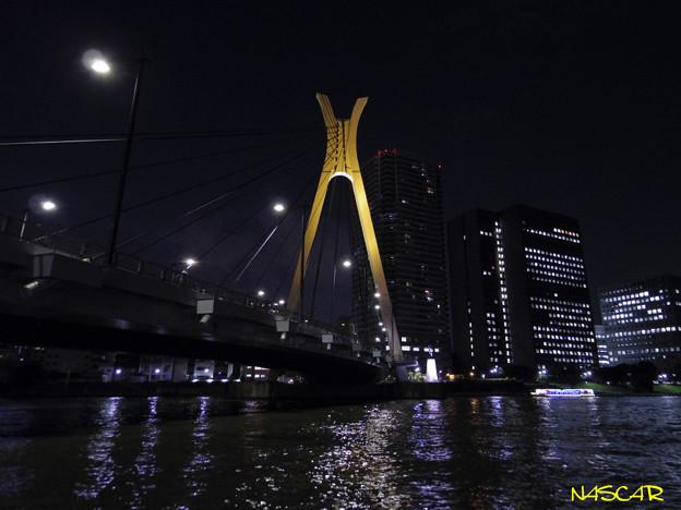 写真: 中央大橋 隅田川 01092016