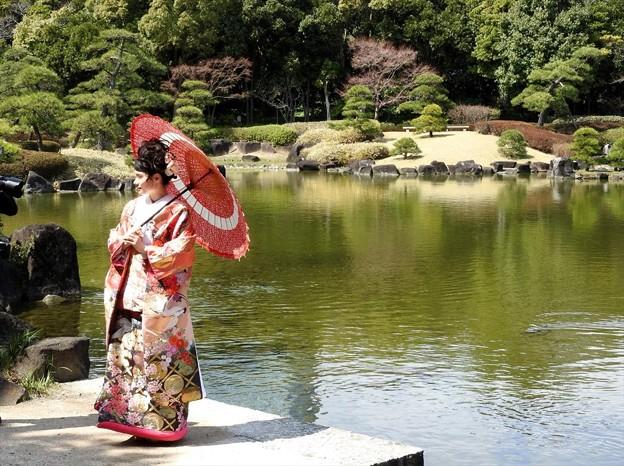 娘の結婚01 前撮り(色打掛)