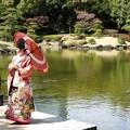 写真: 娘の結婚01 前撮り(色打掛)