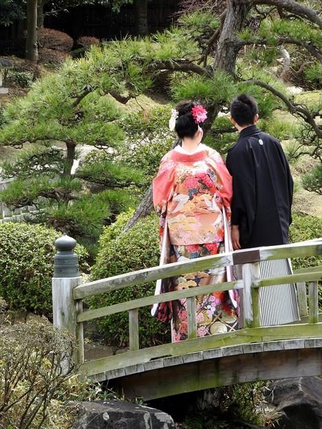 娘の結婚02 前撮り(色打掛)