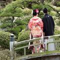 写真: 娘の結婚02 前撮り(色打掛)
