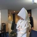 写真: 娘の結婚05 前撮り(白無垢)