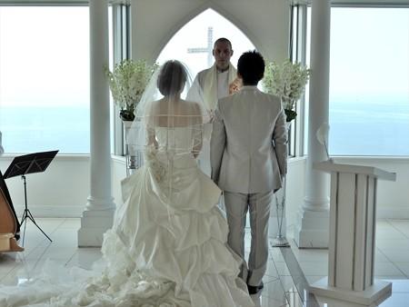 娘の結婚14 スカイチャペル(リハ)