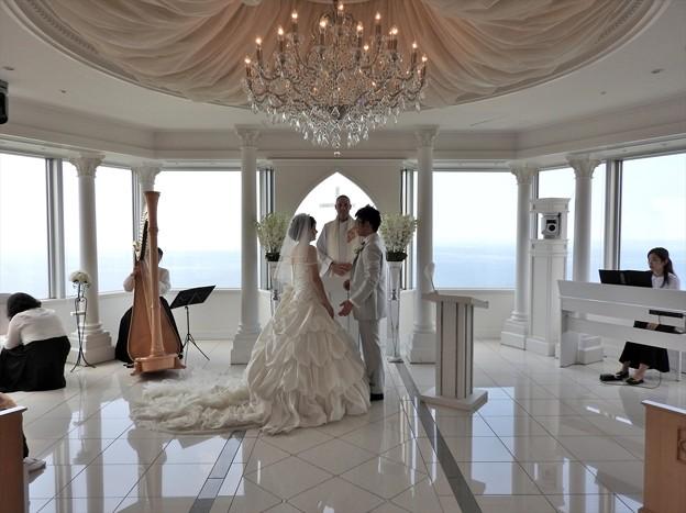 娘の結婚15 スカイチャペル(リハ)