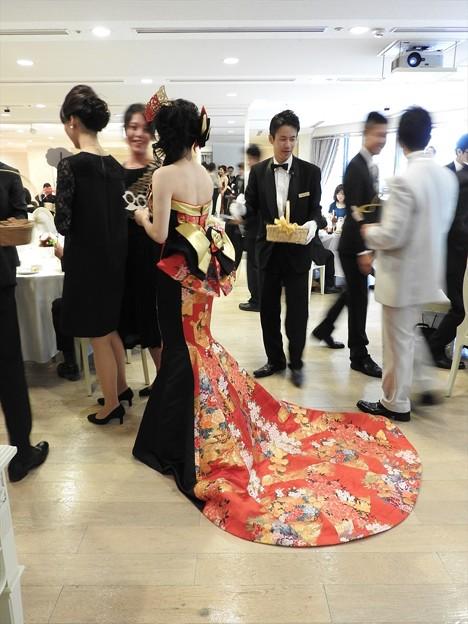 娘の結婚20 披露宴お色直し(和ドレス)