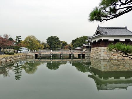広島城05 御門橋と平櫓