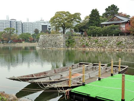 広島城10  二の丸御門橋左手(算木積)