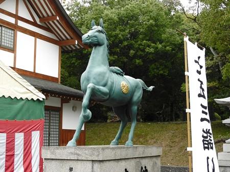 広島城21  広島護国神社 元は馬場だったそう