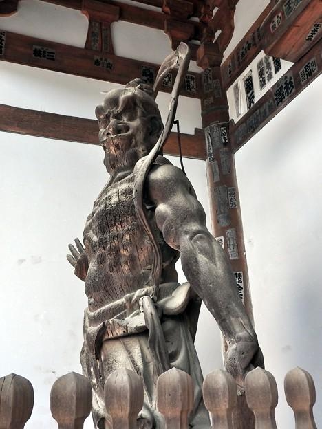 石山寺07 東大門 仁王吽形