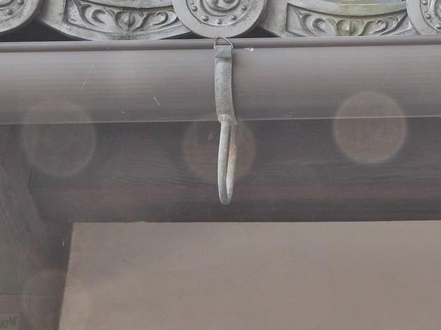 写真: 石山寺130 帰りの参道10 オーブ2