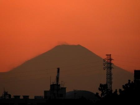 夕景5 茜富士