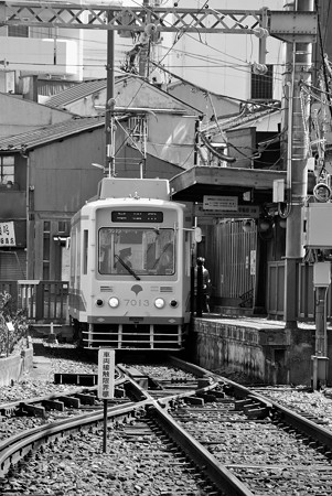 終点三ノ輪橋駅