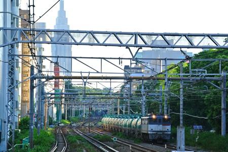 原宿ー渋谷間 早朝の8588レ