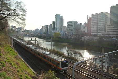 中央線/市ヶ谷ー飯田橋