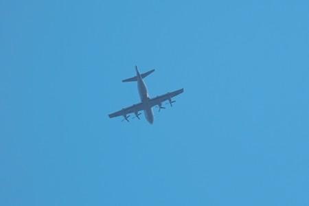 2015.03.12 追分市民の森 P-3C
