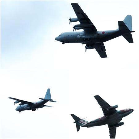 2016.06.14 泉の森 厚木基地を意識させる軍機