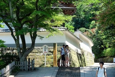 2016.08.05 円覚寺 如意庵前
