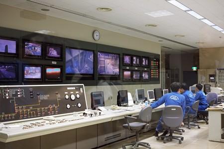 2016.10.05 塵焼却工場(発電所) 中央管制室