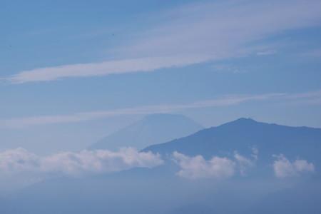 2016.11.01 駅前 富士山 センサーに塵