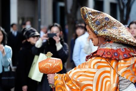 2017.01.04 丸の内仲通り 獅子舞 8