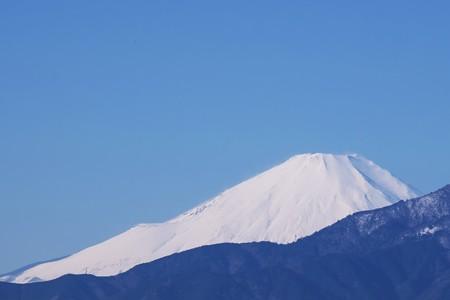 2017.01.10 駅前 富士山