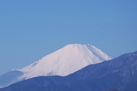2017.01.26 駅前 富士山