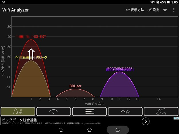 2017.01.19 ZenPad 3 8.0 Wifi Analyzer