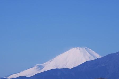 2017.02.07 駅前 寒けりゃ富士が見えて