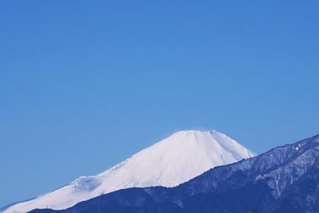 2017.02.12 駅前 富士山