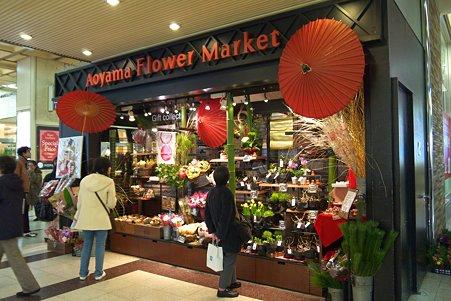 2010.12.29 横浜 花屋の店先