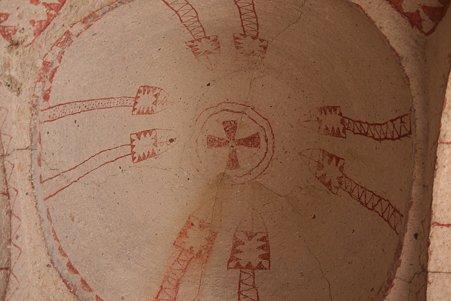 2011.01.26 トルコ カッパドキア ギョレメ野外博物館 バルバラ・キリセの壁画-1