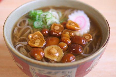 2011.03.10 肘折温泉 寿屋 なめこ蕎麦