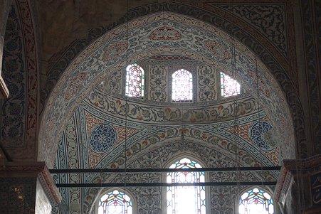 2011.01.27 トルコ イスタンブル スルタンアフメト・モスク 窓