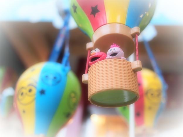 気球に乗って♪