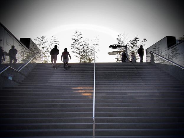 大階段を登った先には・・・