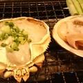 """Photos: """"蟹味噌甲羅焼き"""" & """"ホッキ貝の殻焼き"""" ~♪ ヾ(*´ω`*)  @磯丸..."""