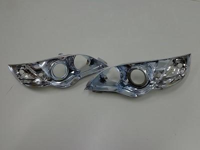 レガシィBP5 福岡県 ヘッドライトインナーブラック塗装前400