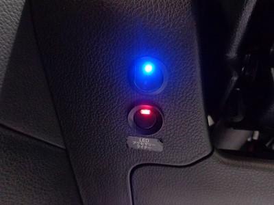 レヴォーグ 千葉県 ヘッドライト加工 室内スイッチ