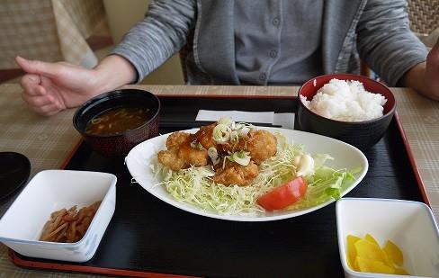 P1300264.jpg 鶏のから揚げ定食